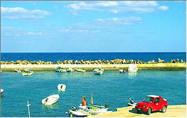 Panormo: View of the port